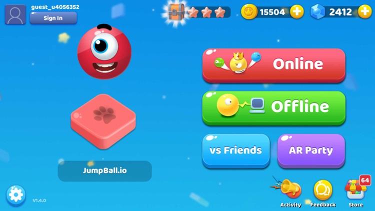 JumpBall.io screenshot-5