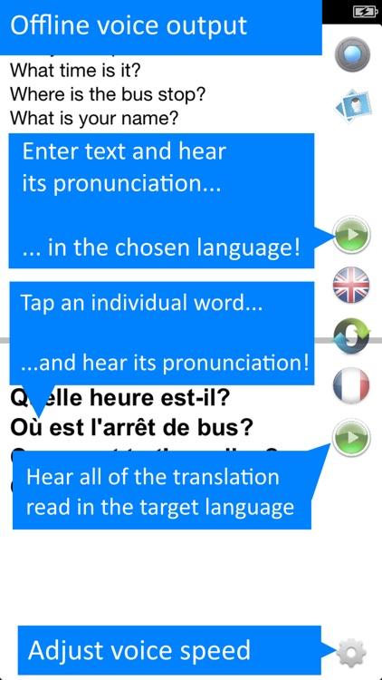 Offline French Translator App screenshot-3