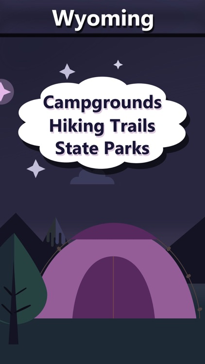 Wyoming Camping & State Parks screenshot-0
