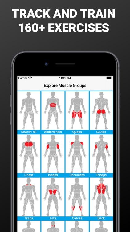 Gains - Workout & Gym Plans screenshot-5