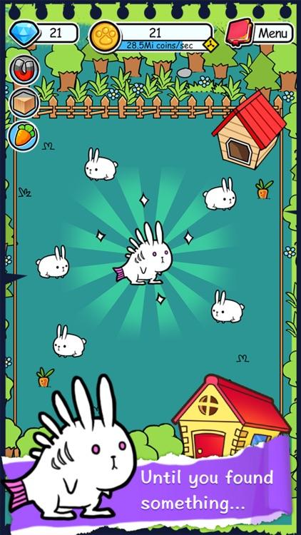 Rabbit Evolution Merge in Farm