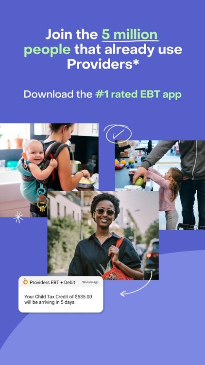 Providers: benefits and debit screenshot-4