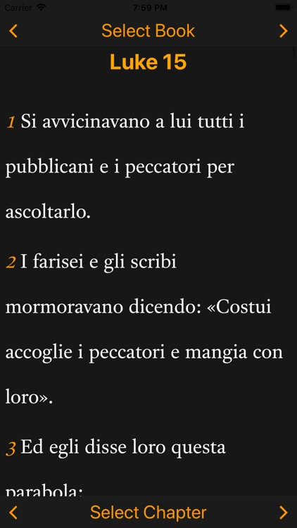 Italian-English Bible screenshot-5