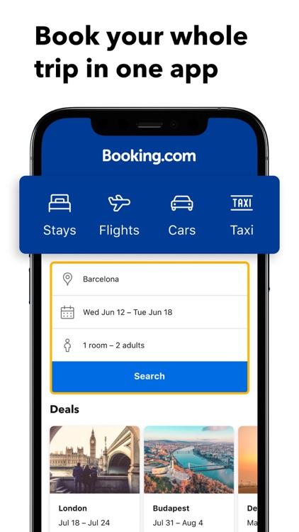 Booking.com: Hotels & Travel screenshot-0