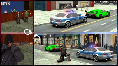 Bank Robbery 3D Police Escape-4