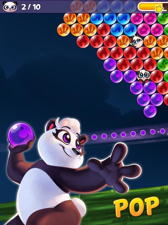Bubble Shooter - Panda Pop! iPad app afbeelding 1