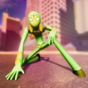 Flying Superhero Crime City 3D
