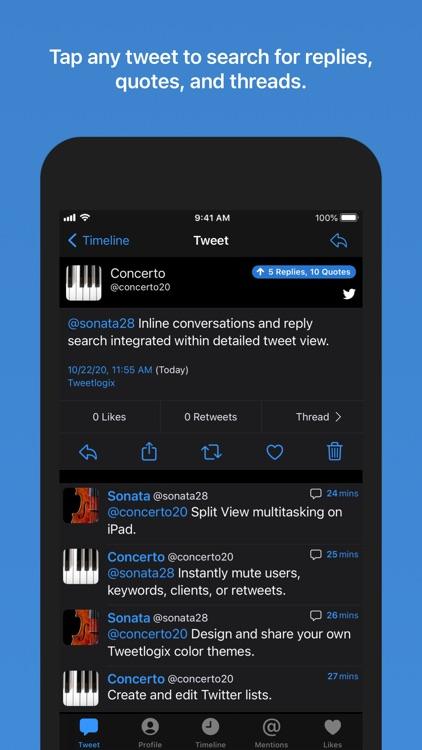 Tweetlogix for Twitter