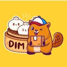Dim Sum Beavers Stickers