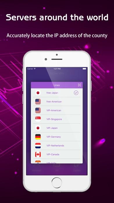 VPN-Rocket VPN Security Proxy Screenshot on iOS
