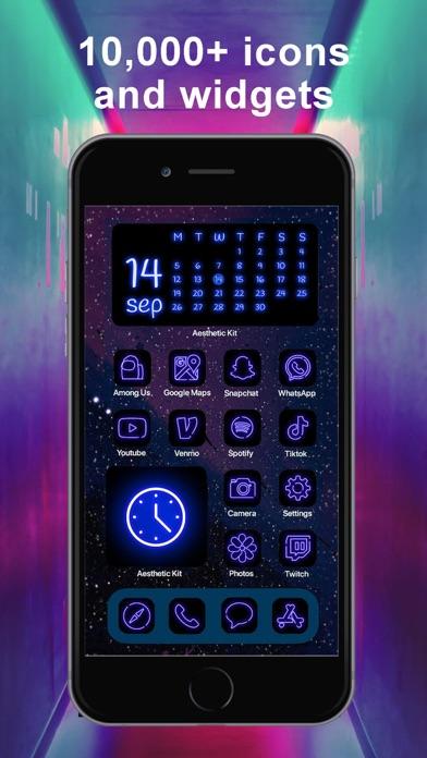 Aesthetic Kit – Icono y temasCaptura de pantalla de7