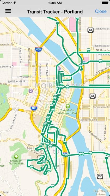 Transit Tracker - Portland