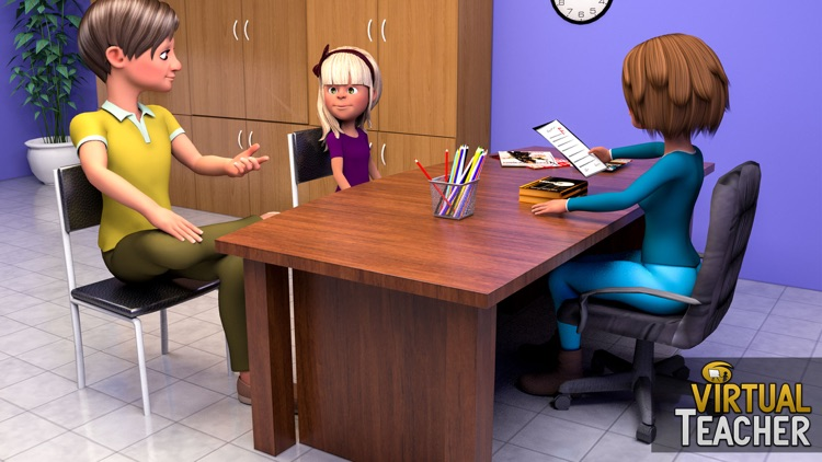Virtual High School Teacher 3D screenshot-4