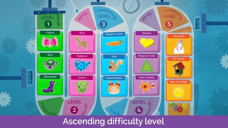 Sorting Puzzles for Kids Full screenshot-4
