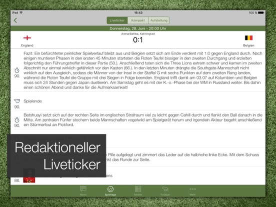 Pocket Liga - Fussball Live-ipad-1