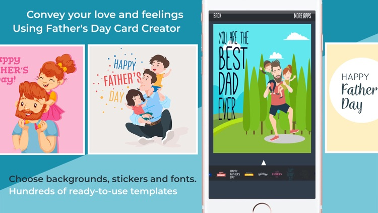 DIY Father's Day Card Creator