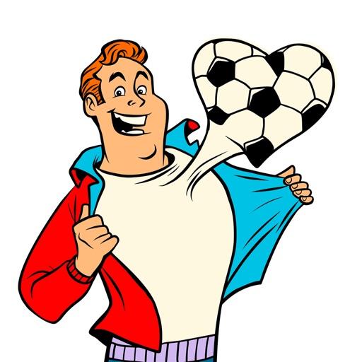 Soccer Football Emoji Stickers