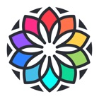 我的涂色本 - 休闲放松的涂色游戏 icon