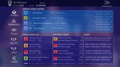 World Title Boxing Man... Screenshot