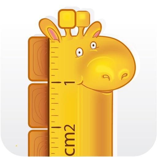 GRuler: AR ruler meter tape cm
