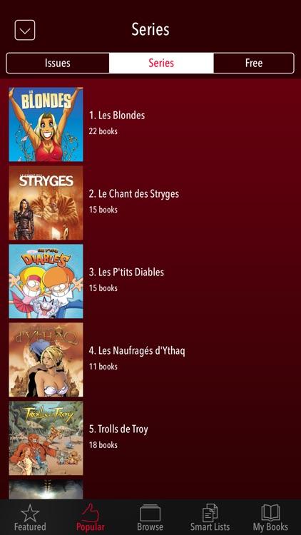 Delcourt Soleil French Comics. screenshot-3