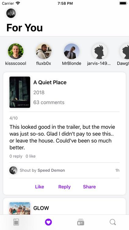 Rippple - TV & Movie Comments screenshot-6