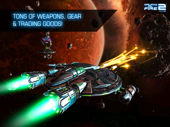 Galaxy on Fire 2™ HD Screenshots