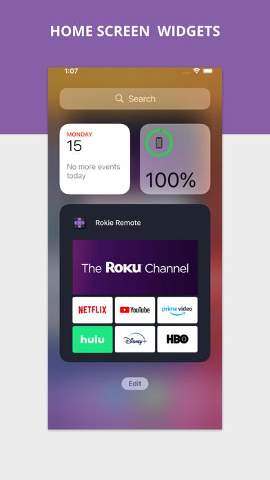 messages.download Rokie - Roku Remote software