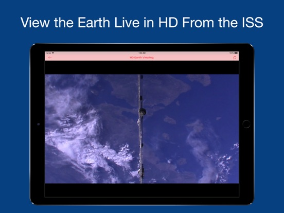 ISS Real-Time Tracker Screenshots