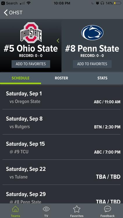 College Football App screenshot-7