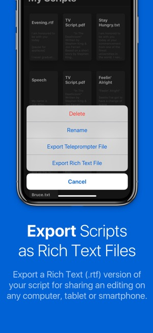 Teleprompter Ipad Teleprompter App With Remote