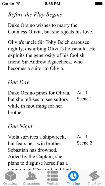 Twelfth Night Full Audio screenshot-3