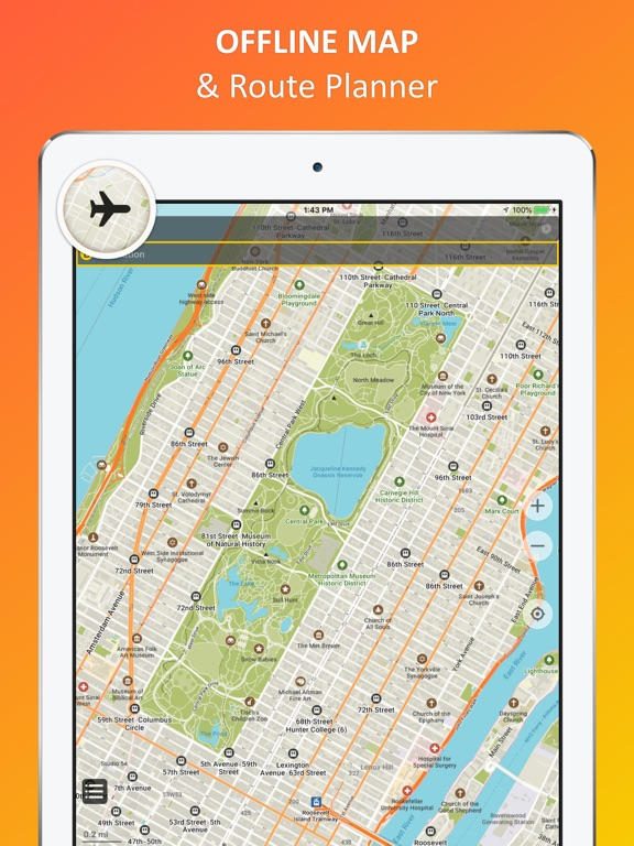 Map New York Offline.New York City Offline Map App Price Drops