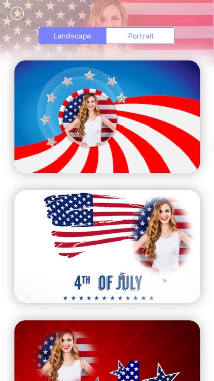 4th of July Day Photo Frames