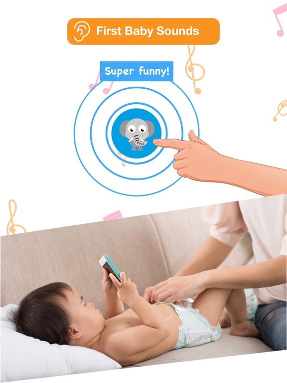 Screenshot #2 for Happy Baby: laugh & learn app