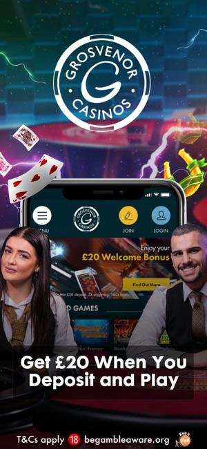 grosvenor casino online mobile