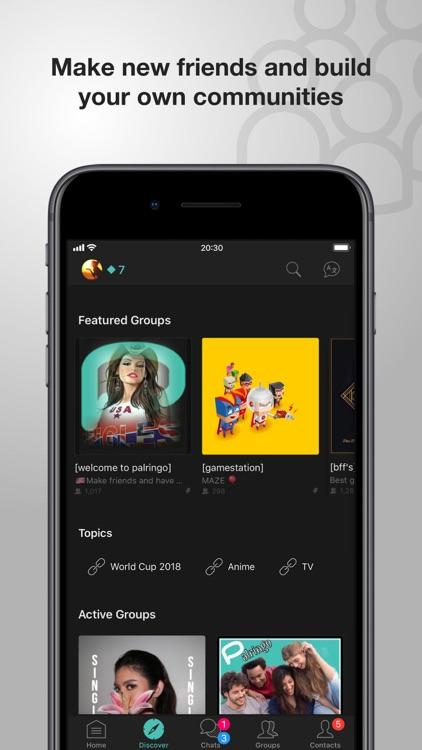 Palringo Group Messenger Chat screenshot-0