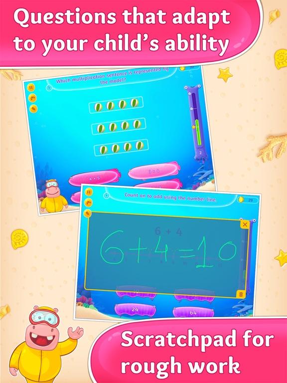 Splash Math - 3rd Grade HD Full | | BestAppsForKids.com