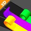 カラーロールスイッチ:パズルを並べ替えるアイコン