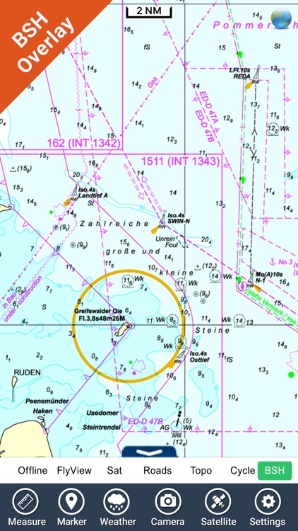 Germany HD GPS Nautical Chart