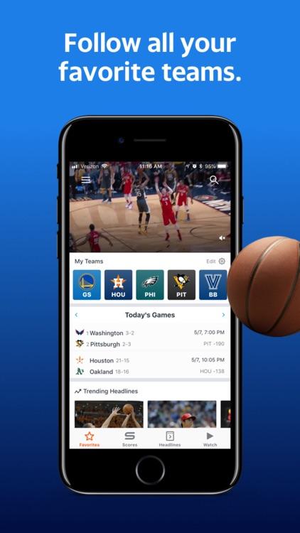 Yahoo Sports: Scores & News screenshot-3