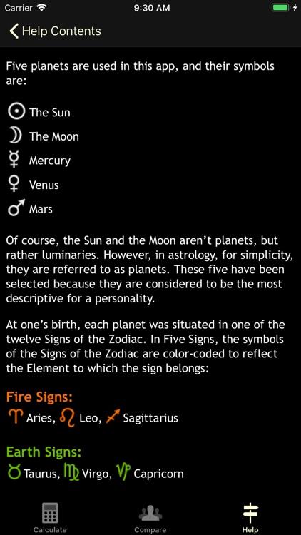 Five Signs screenshot-8