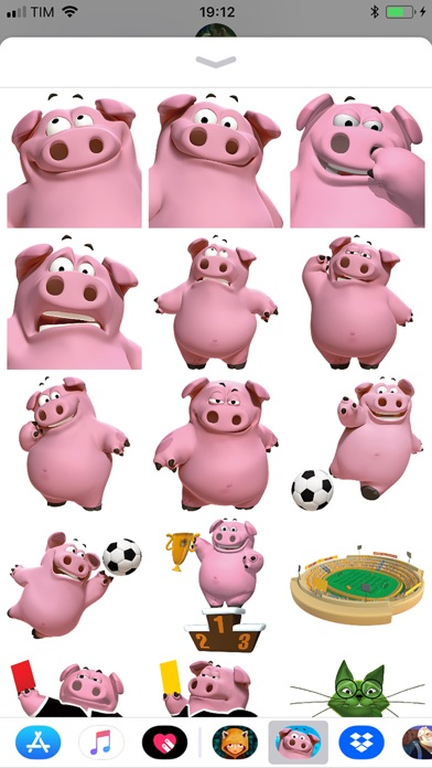 Tải về GoGoPig Soccer Stickers pack cho Android