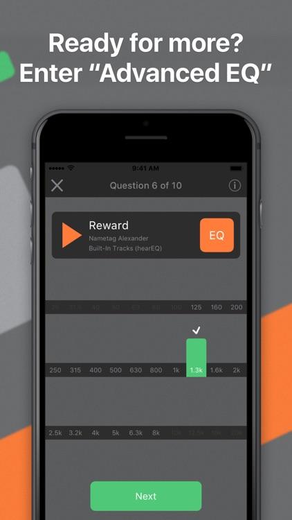 hearEQ: Ear training for EQ screenshot-4