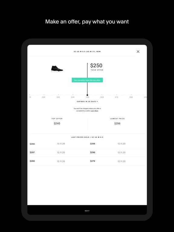 iPad Image of GOAT – Sneakers & Apparel