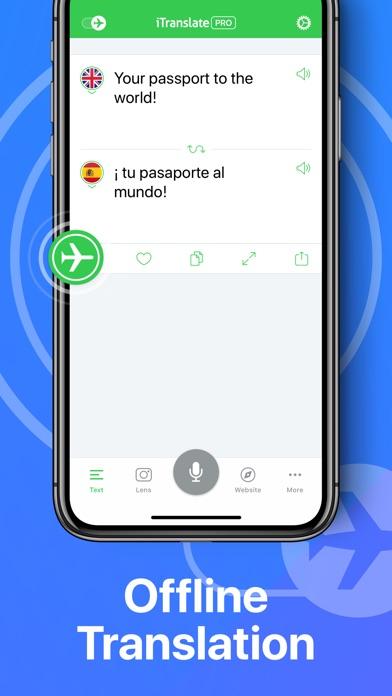 iTranslate Translator Screenshots