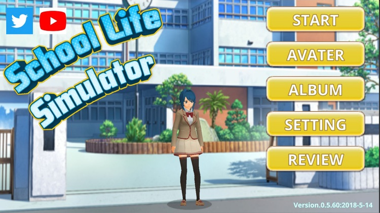 School Life Simulator by teruaki okano
