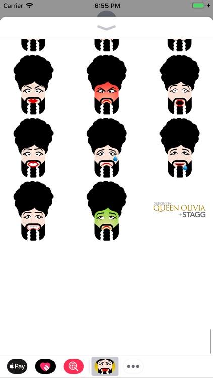 Queen Olivia Stickers
