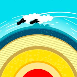 Planet Bomber! Games app