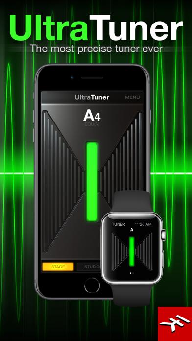 Screenshot #1 pour UltraTuner - Precision Tuning